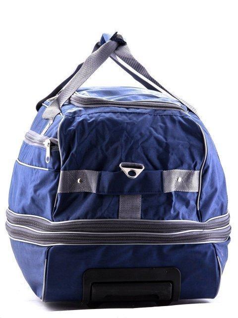 Синий чемодан Lbags (Эльбэгс) - артикул: К0000013246 - ракурс 4