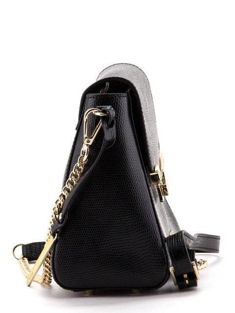 Чёрная сумка планшет Cromia (Кромиа) - артикул: К0000028567 - ракурс 3