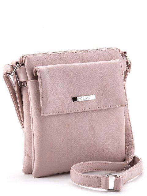 Розовая сумка планшет S.Lavia (Славия) - артикул: 907 601 42 - ракурс 1