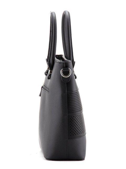 Чёрная сумка классическая David Jones (Дэвид Джонс) - артикул: К0000027172 - ракурс 2
