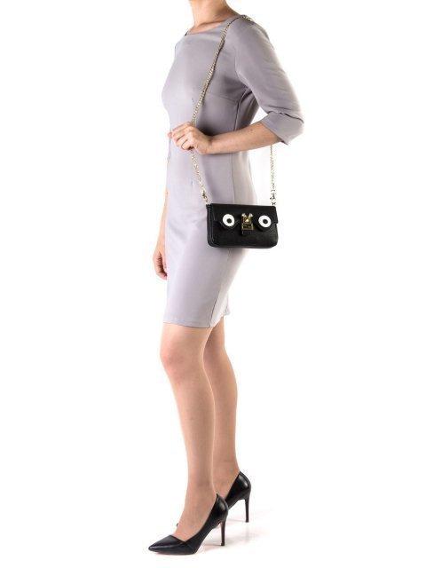 Чёрная сумка планшет LULUMINA (Лалумина) - артикул: К0000018264 - ракурс 1