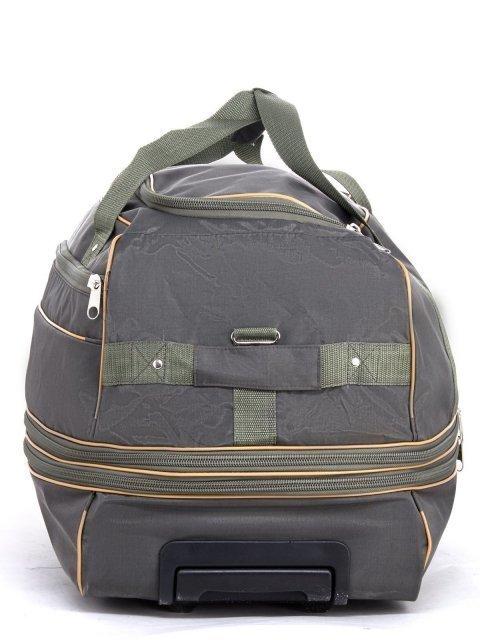 Зелёный чемодан Lbags (Эльбэгс) - артикул: К0000029535 - ракурс 3