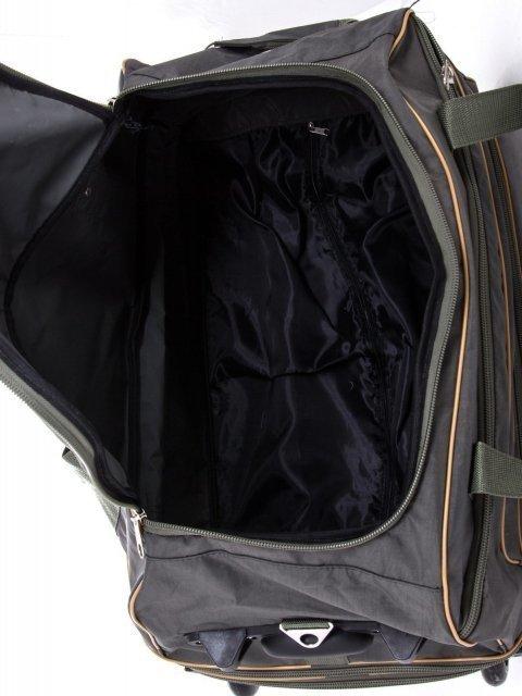 Зелёный чемодан Lbags (Эльбэгс) - артикул: К0000029535 - ракурс 5