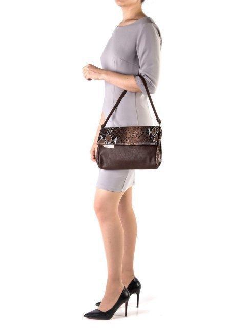 Коричневая сумка планшет S.Lavia (Славия) - артикул: 667 126 12 - ракурс 1