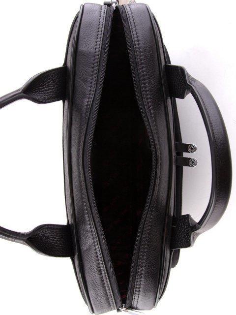 Чёрная прямоугольная сумка Karya (Кария) - артикул: К0000024737 - ракурс 4