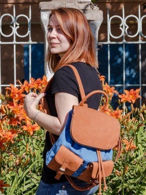 Синий рюкзак S.Lavia (Славия) - артикул: 837 014.70 - ракурс 6