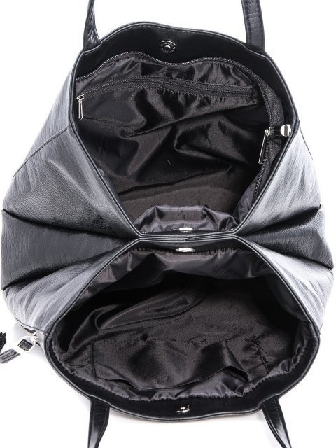 Чёрный шоппер S.Lavia (Славия) - артикул: 878 601 01 - ракурс 4