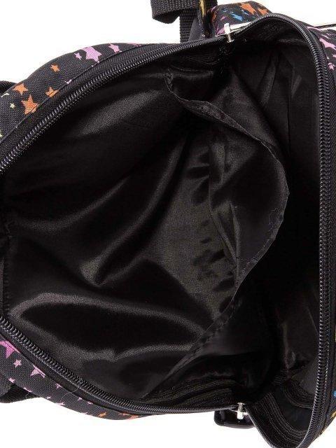 Чёрный рюкзак Lbags (Эльбэгс) - артикул: 0К-00004426 - ракурс 4