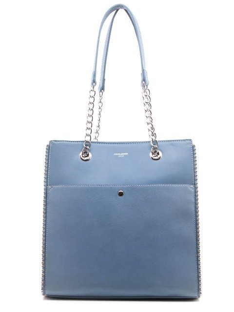 Голубой шоппер David Jones - 1500.00 руб