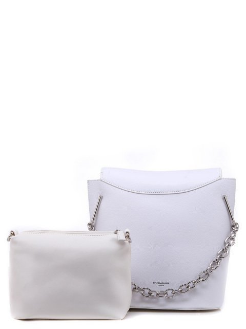 Белая сумка планшет David Jones - 1150.00 руб