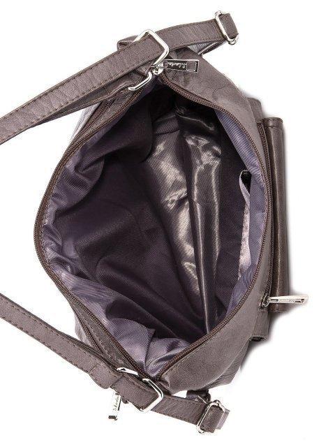 Коричневая сумка мешок S.Lavia (Славия) - артикул: 1044 601 12 - ракурс 6