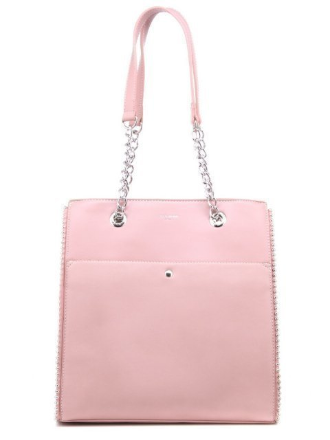 Розовый шоппер David Jones - 1500.00 руб