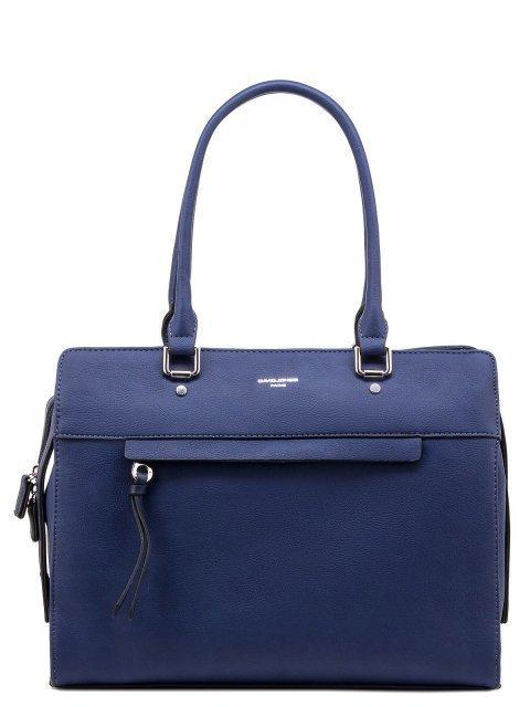 Синяя сумка классическая David Jones - 1300.00 руб