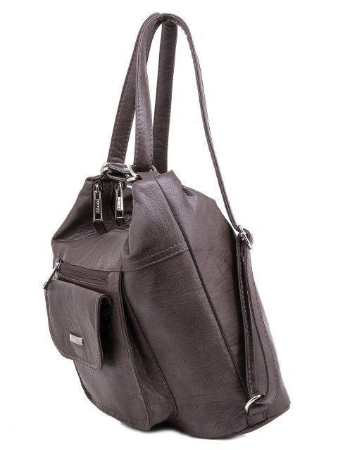 Коричневая сумка мешок S.Lavia (Славия) - артикул: 1044 601 12 - ракурс 5