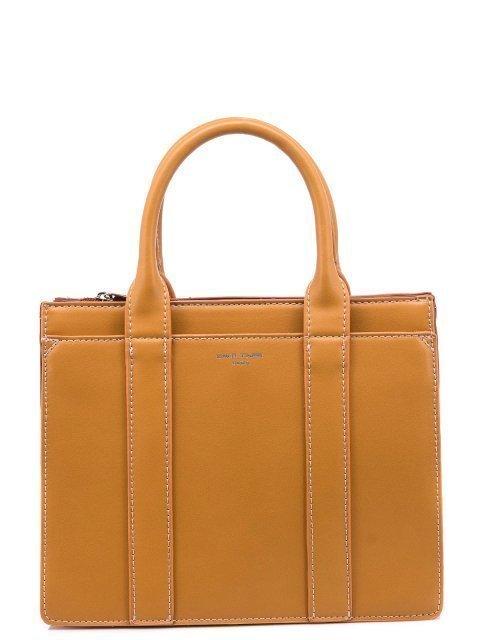 Рыжая сумка классическая David Jones - 1150.00 руб