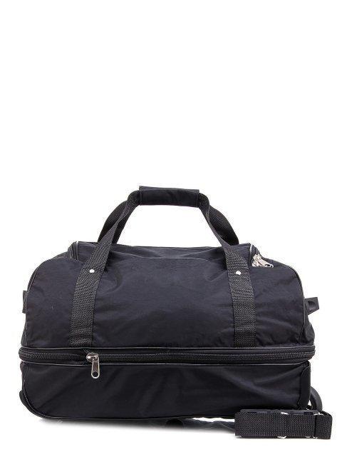 Чёрный чемодан Lbags (Эльбэгс) - артикул: К0000015902 - ракурс 3