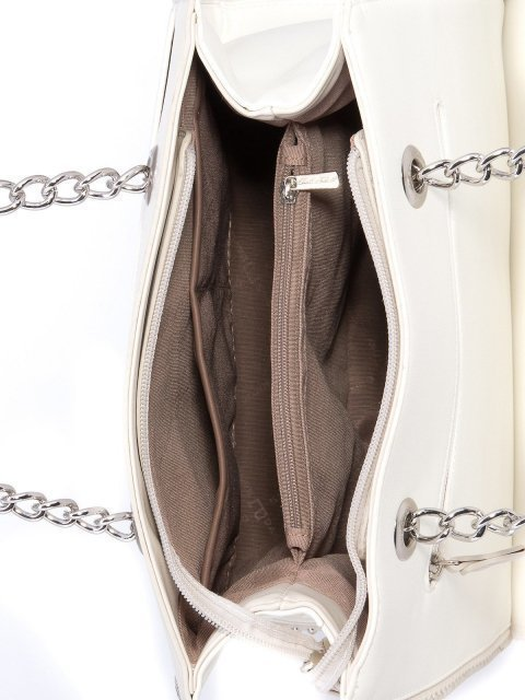 Белый шоппер David Jones (Дэвид Джонс) - артикул: 0К-00001526 - ракурс 4