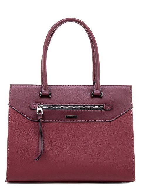 Бордовая сумка классическая David Jones - 1200.00 руб