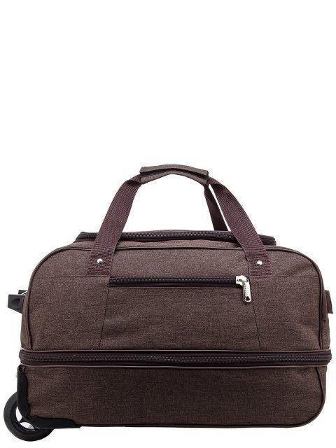 Коричневый чемодан Lbags - 2392.00 руб