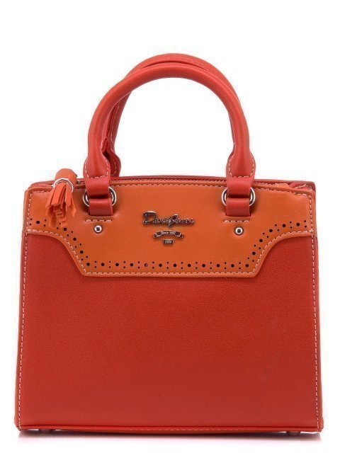 Оранжевая сумка классическая David Jones - 1400.00 руб