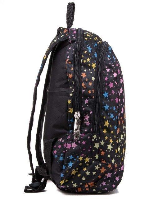 Чёрный рюкзак Lbags (Эльбэгс) - артикул: 0К-00004426 - ракурс 2
