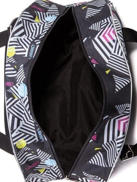 Чёрная дорожная сумка Lbags (Эльбэгс) - артикул: 0К-00004912 - ракурс 4