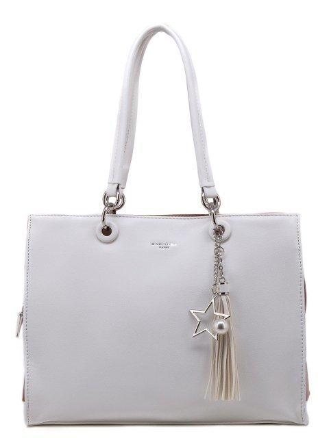 Белая сумка классическая David Jones - 1300.00 руб