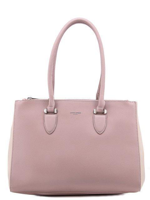 Розовая сумка классическая David Jones - 1099.00 руб