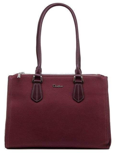 Бордовая сумка классическая David Jones - 2076.00 руб