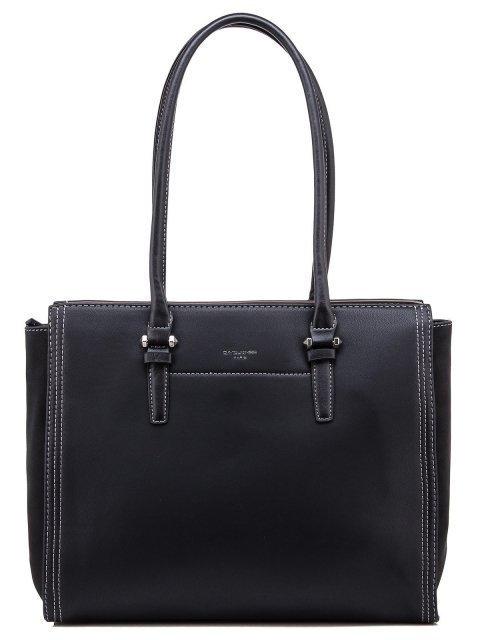 Чёрная сумка классическая David Jones - 1450.00 руб