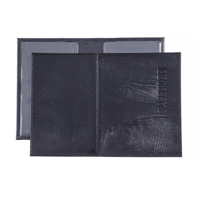 Чёрная обложка для документов S.Lavia - 439.00 руб