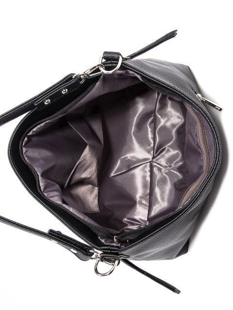 Чёрная сумка мешок S.Lavia (Славия) - артикул: 1045 902 01 - ракурс 4