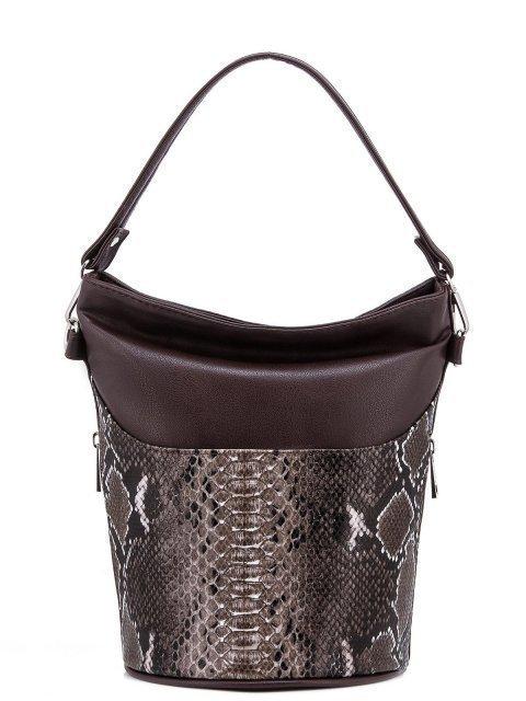 Коричневая сумка мешок S.Lavia - 899.00 руб