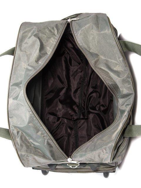 Зелёный чемодан Lbags (Эльбэгс) - артикул: К0000015895 - ракурс 5