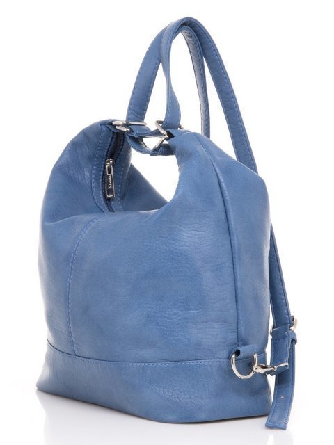 Синяя сумка мешок S.Lavia (Славия) - артикул: 869 601 70 - ракурс 4