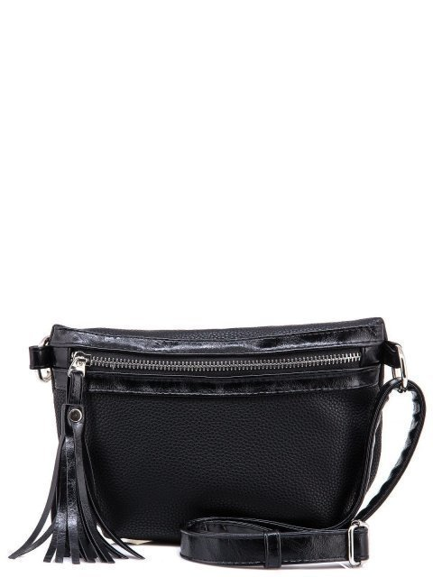 Чёрная сумка на пояс S.Lavia - 999.00 руб