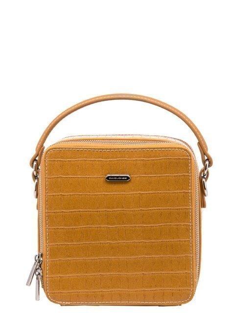 Жёлтая сумка планшет David Jones - 1199.00 руб