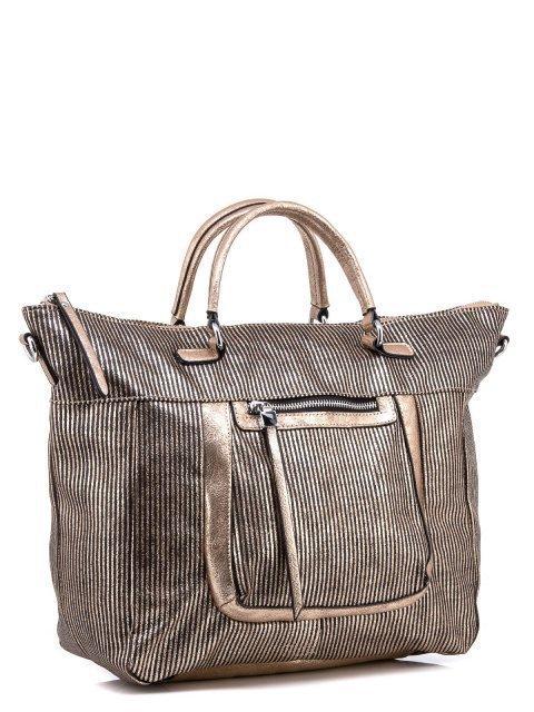 Бронзовый шоппер Domenica (Domenica) - артикул: 0К-00002055 - ракурс 1