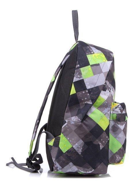 Серый рюкзак Lbags (Эльбэгс) - артикул: 0К-00001885 - ракурс 2