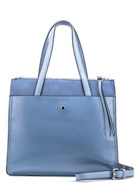 Голубой шоппер Domenica (Domenica) - артикул: 0К-00002070 - ракурс 3