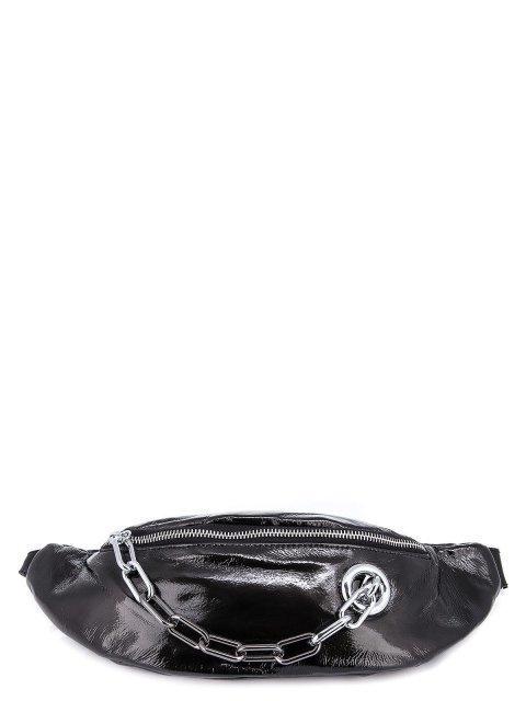 Чёрная сумка на пояс Polina - 1095.00 руб