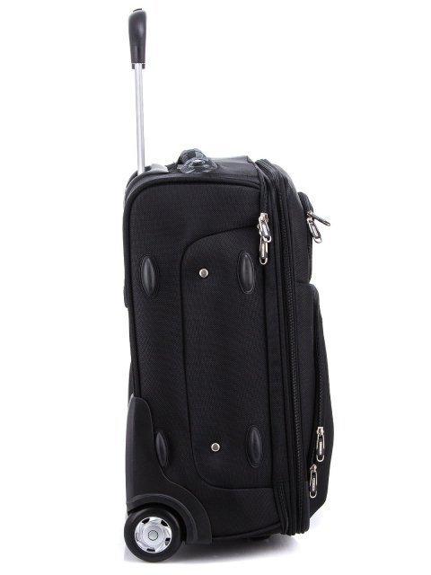 Чёрный чемодан Monkking (Монкинг) - артикул: 0К-00000211 - ракурс 2