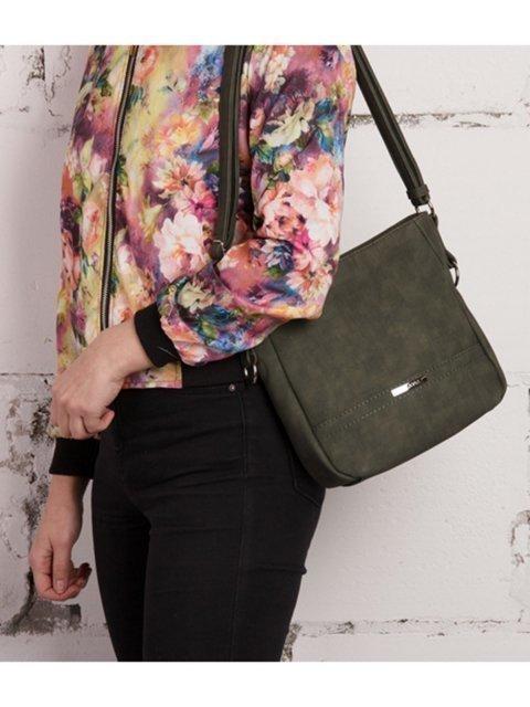 Зелёная сумка планшет S.Lavia (Славия) - артикул: 777 619 31 - ракурс 5
