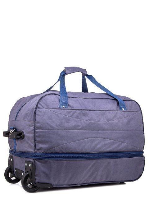 Серый чемодан Lbags (Эльбэгс) - артикул: К0000018622 - ракурс 1