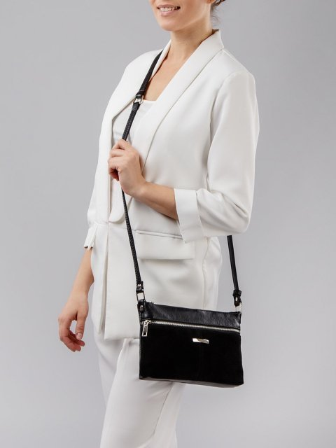 Чёрная сумка планшет S.Lavia (Славия) - артикул: 870 99 01 - ракурс 5