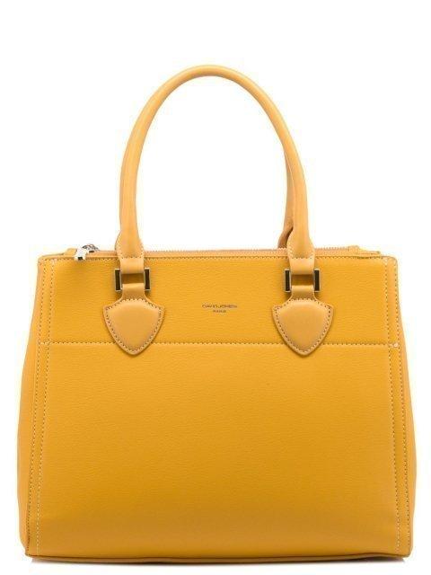 Жёлтая сумка классическая David Jones - 2071.00 руб