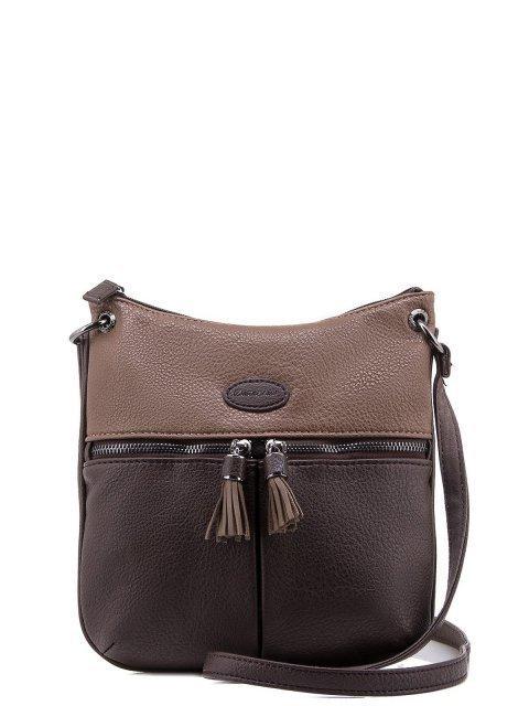 Коричневая сумка планшет David Jones - 1050.00 руб