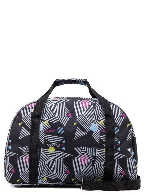 Чёрная дорожная сумка Lbags (Эльбэгс) - артикул: 0К-00004912 - ракурс 3