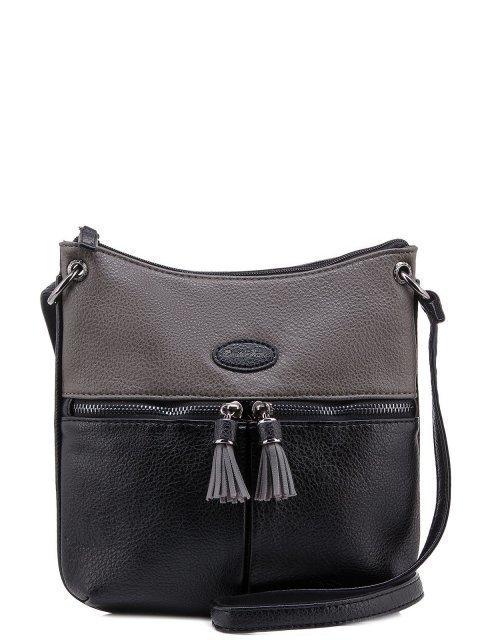 Чёрная сумка планшет David Jones - 1050.00 руб