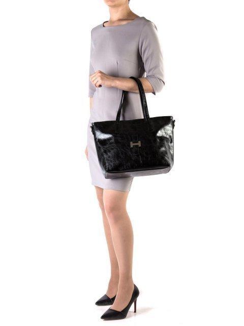 Чёрная сумка классическая S.Lavia (Славия) - артикул: 448 048 01 - ракурс 1